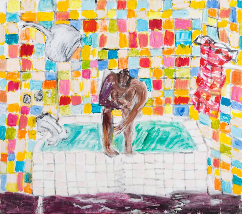 That´s me in the Bathtub 70x80 cm