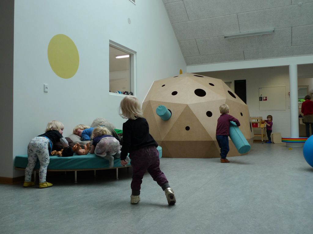 Rumstationen. 2014. Børnehuset Ole Rømer, Aarhus. Foto: Bodil Sohn