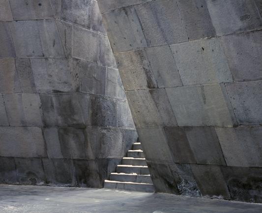 Interior (Armenian Genocide Memorial) Tsitsernakaberd Armenia  2013