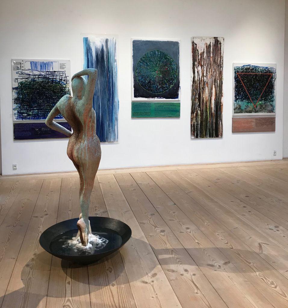 Udstilling på KunstCentret Silkeborg Bad, 2020